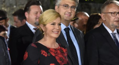 Predsjednica i premijer se sastali na Pantovčaku