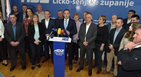 HDZ pobijedio u Lici, ali dobio upola manje glasova nego 2017.