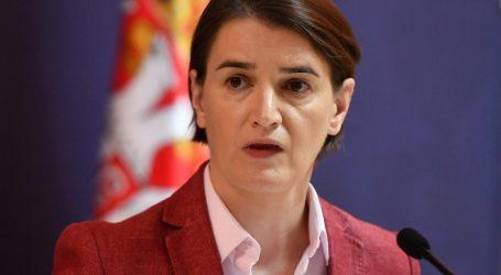 Brnabić optužila regiju za 'nevjerojatne izjave' o presudi Karadžiću