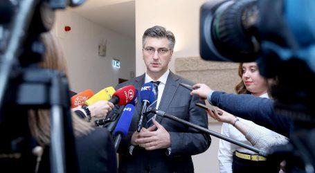 """PLENKOVIĆ """"HDZ ne tolerira nasilje"""""""