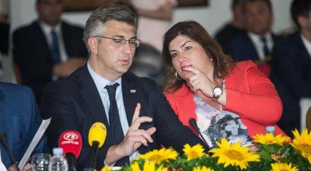 Žalac ponudila ostavku, Plenković ju nije prihvatio