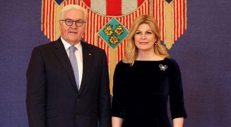 Njemački predsjednik stigao u službeni posjet Hrvatskoj