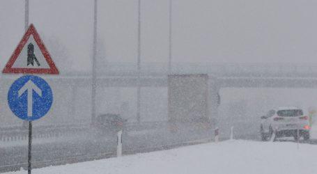 HAK Snijeg u Lici i Gorskom kotaru, u priobalju bura