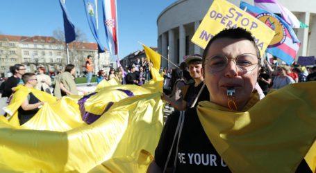 U Zagrebu održan prvi balkanski marš transrodnih osoba