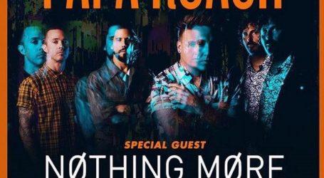 VIDEO: Nastup uživo grupe 'Papa Roach'