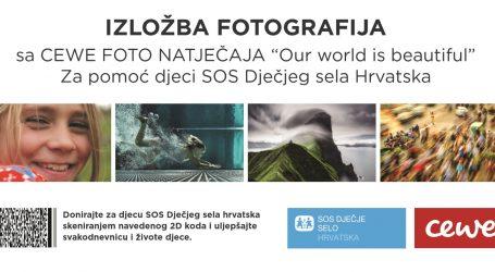 SOS Dječje selo Hrvatska organizira humanitarnu izložbu 'Naš svijet je lijep'