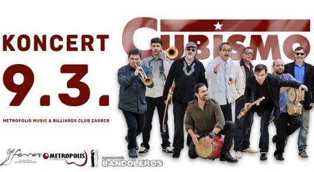 Klupski salsa party uz nastup grupe 'Cubismo'