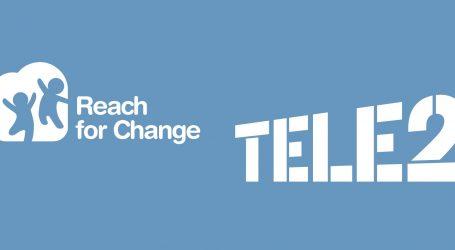 Zaklada Reach for Change i Tele2 Hrvatska unapređuju život djece u Hrvatskoj