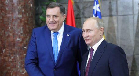 Putin čestitao Dodiku 60. rođendan