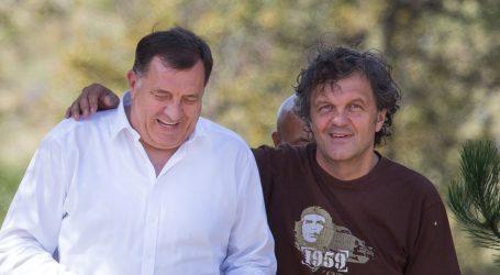 Milorad Dodik uzeo redatelja Emira Kusturicu za savjetnika