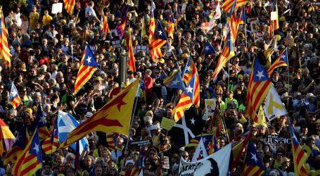 MADRID Katalonci prosvjedovali protiv suđenja liderima