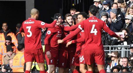 Liverpool se vratio na prvo mjesto