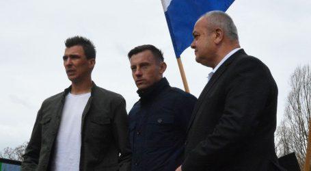 SL. BROD Mandžukić, Olić i Rakitić dobili brončane ploče
