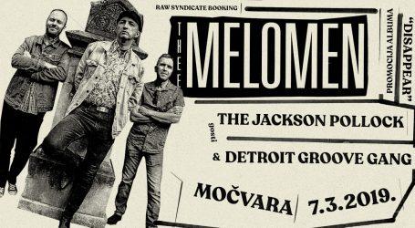Thee Melomen promoviraju ploču u Močvari