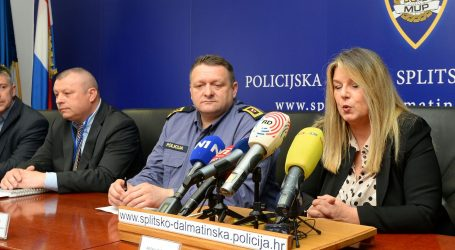 """VITEZ """"Razina sigurnosti u Splitu i županiji zadovoljavajuća"""""""