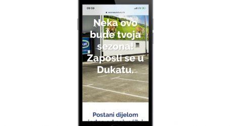Dukat predstavio karijernu internetsku stranicu