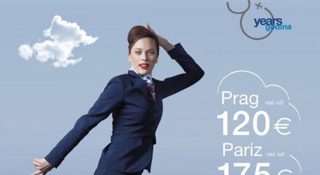 Croatia Airlines nastavlja rođendansku kampanju