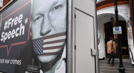 """WIKILEAKS """"Moćni igrači udružili su se protiv Assangea"""""""