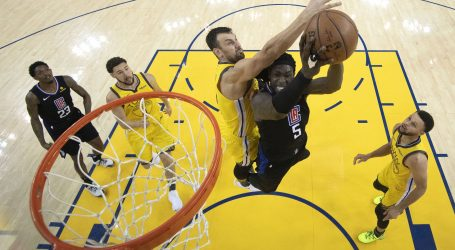 NBA Clippersi nadoknadili 31 koš zaosttaka i šokirali Warriorse