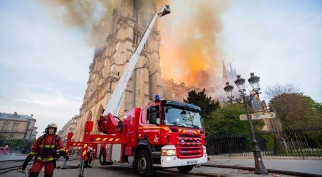 I dalje stižu reakcije na požar Notre Damea, papa pozvao na mobilizaciju