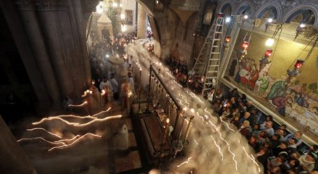 Kršćani u Jeruzalemu slave Uskrs