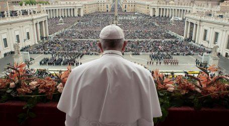 """Papa Franjo osudio """"zla"""" našeg vremena"""