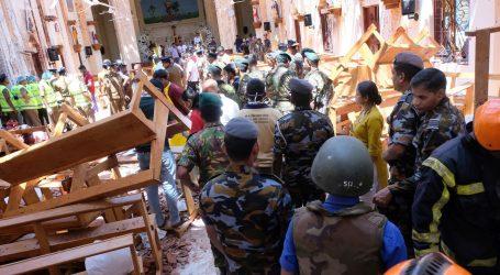 Broj mrtvih na Šri Lanki popeo se na 290, 500 ranjenih