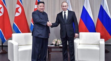 VLADIVOSTOK Putin i Kim počeli prvi službeni sastanak