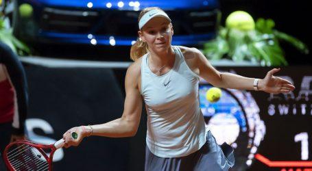 WTA STUTTGART Vekić propustila 5:1 u trećem setu protiv Osake