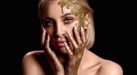 FOTO: Manekenka Luna Valas u kampanji 'Gold'