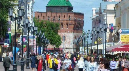 VIDEO: Festival svjetla u ruskom Nižnji Novgorodu