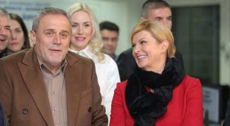 CROBAROMETAR Predsjednica i Bandić najpopularniji političari
