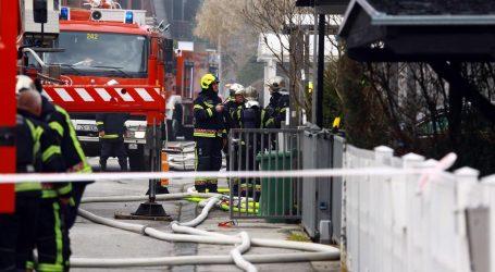 Požar na zagrebačkoj Trešnjevci, dvije osobe se nagutale dima
