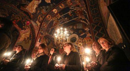 Vjernici slave Uskrs po julijanskom kalendaru