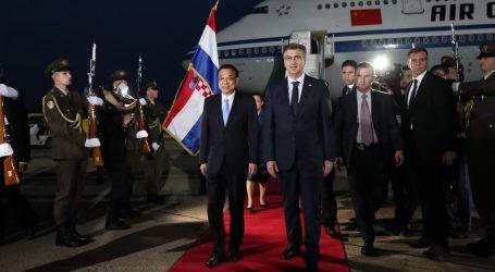 Kineski premijer stigao u Zagreb u misiju jačanja suvremenog 'Puta svile'