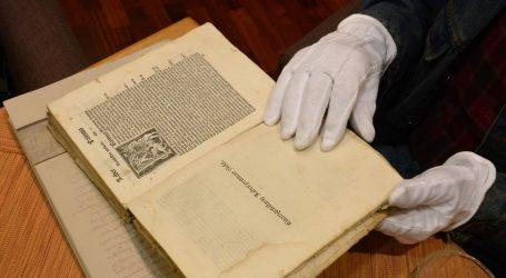 SENZACIJA NA POLJUDU Pronađene knjige Marka Marulića