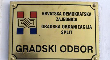 Splitska policija i dalje traga za provalnikom u gradski HDZ