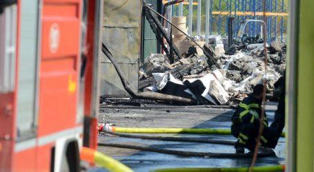 Velika šteta nakon požara u tvornici papirnatih vrećica u općini Gola