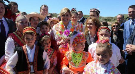 Predsjednica Grabar Kitarović otvorila novu rivu na otoku Susku