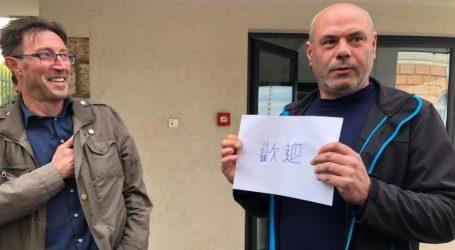 Radnici Uljanika Kineze dočekali na ulazu s natpisom na kineskom