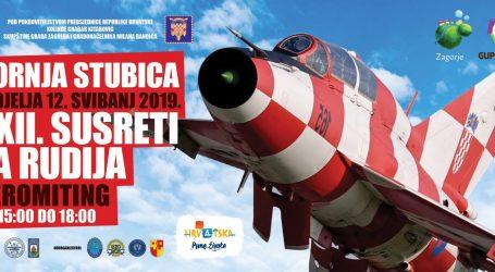 Susreti za Rudija, veliki aeromiting u Hrvatskom Zagorju
