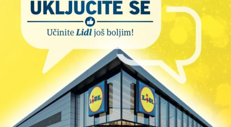Lidl Hrvatska poziva kupce na informaciju i komentar