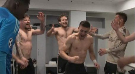 VIDEO Slavlje Ajaxovih igrača nakon uspavljivanja Juventusa