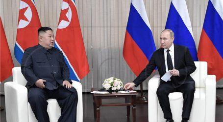 "Kim i Putin vodili ""plodonosne i konstruktivne"" razgovore"