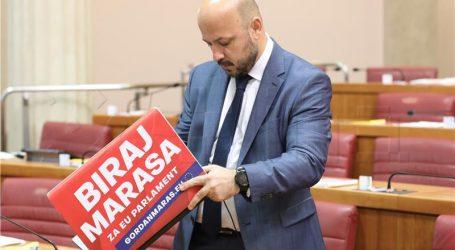"""Eventualne sankcije za Marasovo ponašanje tek nakon izbora"""