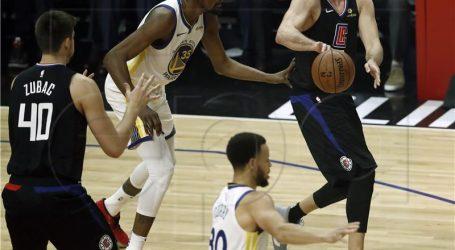 NBA: Zubac odličan, Clippersi bez šanse protiv Warriorsa
