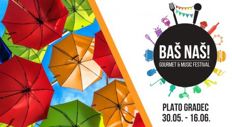 Otkriven program prvog 'Baš Naš Gourmet & Music Festivala'