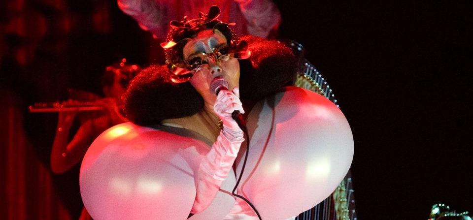 Fotogalerija nove turneje umjetnice Björk