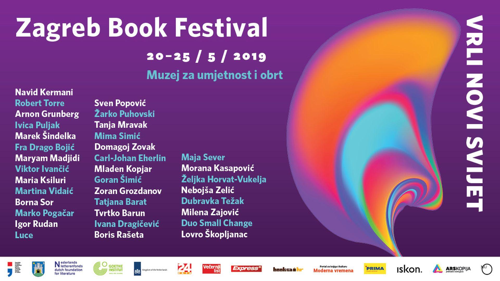 U ponedjeljak počinje 5. Zagreb Book Festival