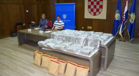 Istarska policija zaplijenila više od 50 kilograma marihuane
